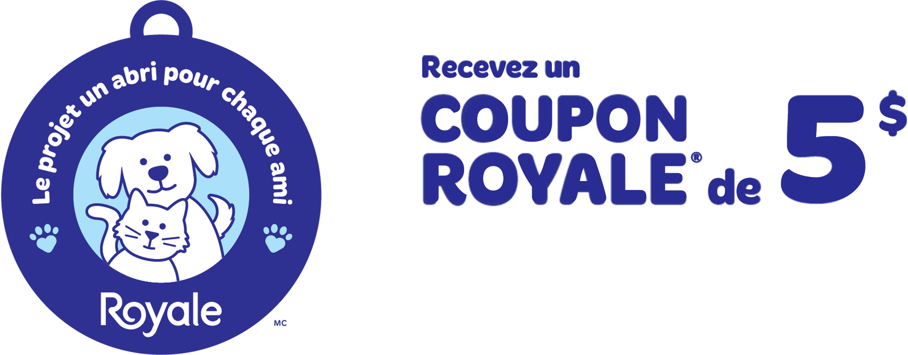 Royale Home For Every Pet Logo